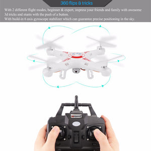 X5C-1  6-Axis 2.4Ghz 4CH Gyro Return RC FPV WiFi HD Camera Quadcopter