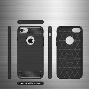 Anti-shock TPU Silicone iPhone Case Scratch & Dirt Resistant