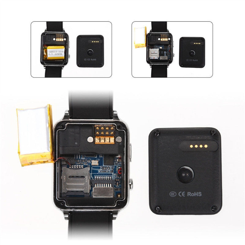 GT88 Sports Smart Watch Heart Rate Monitor GSM SIM Card Bluetooth  Integrated Camera