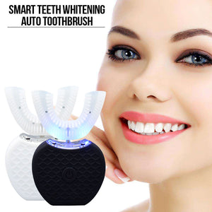 360 Degrees Intelligent U-Type Sonic Tooth Brush With Whitening Blue Light