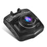 Podolo A1 Mini Dash Cam 1080P DVR Recorder with G-sensor and loop recording shown in black color