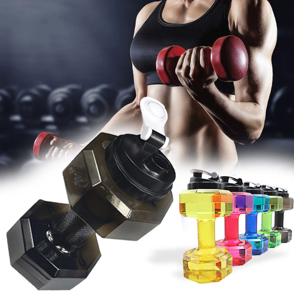 2.5L Dumbbells Shaped Gym/Sports Water Bottle