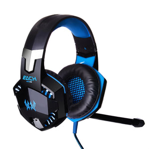 KOTION G2000 Deep Bass Gaming Headphones 50mm Driver ANC Built-in Mic Voice Control/Volume Control