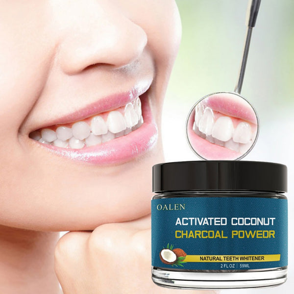 OALEN Teeth Whitening use of all natural and organic ingredients is completely safe to use