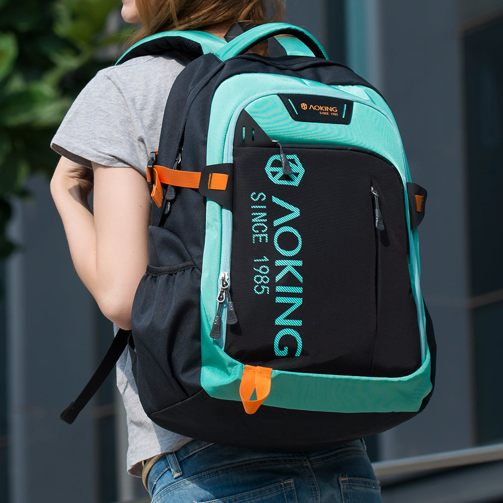 Aoking Sports Lightweight Waterproof Backpack in China green color 7663b3a065