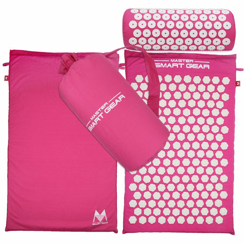 Lotus Acupuncture / Acupressure Massage Yoga Mats And Pillow Set