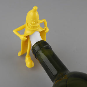 FREEBIE - Mr. Banana Wine Bottle Corkscrew Stopper