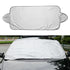 Keep your vehicle cool during summer and protected against snow, frost, and ice during winter with The Smart 2 in 1 Windshield Cover Protector