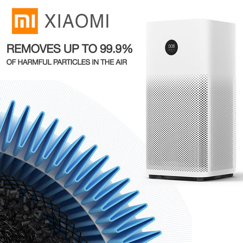 Mi 2S Intelligent Air Purifier / Sterilizer / Filtering System With Smartphone APP Control