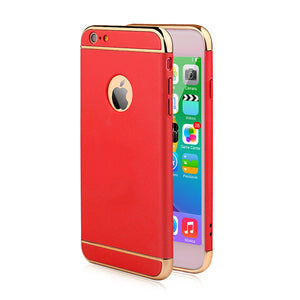 Luxury Ultra Thin Shockproof Armor Back Cover Case For iPhone 6 / 6s / Plus