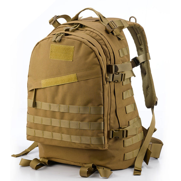 Climbers Waterproof Backpack large capacity in tan color