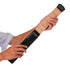 Portable Pocket Guitar Trainer 6 String 6 Fret shown in black color