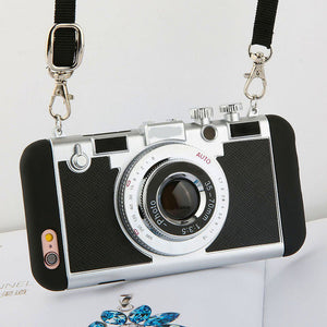 Unique Photo Camera Cases For iPhone Models 5/ 6/ 7