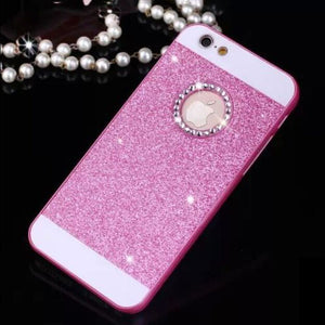 iPhone Case Bling Sparkle Diamond Rhinestone Hard PC Back Cover