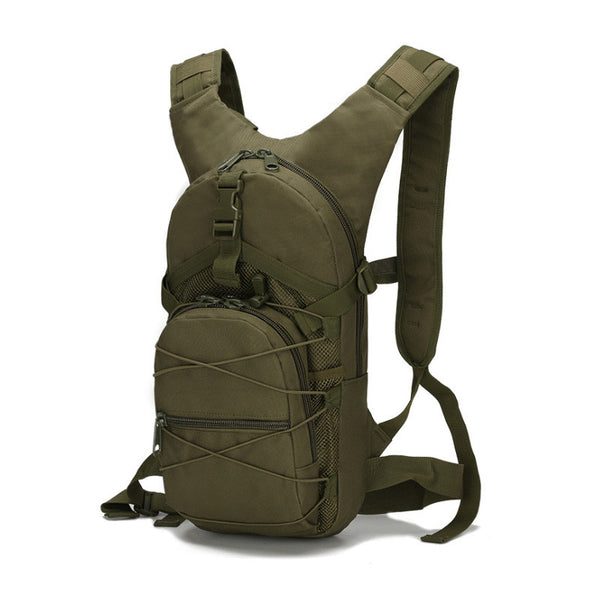 Tactical Lite Weight Backpack in army green color