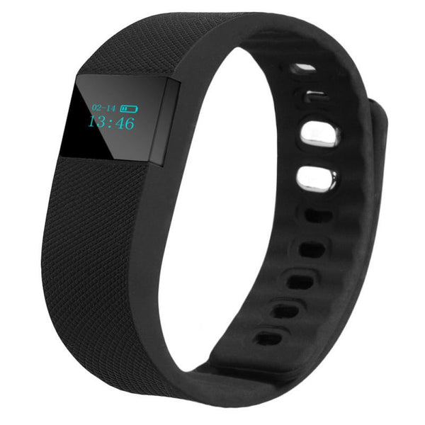 Smart Activity Tracker Watch and Fitness Wristband black