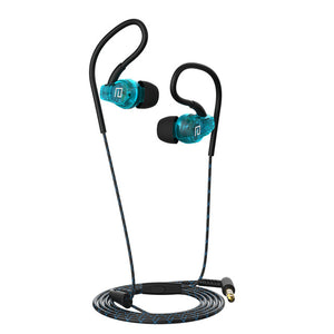 Langsdom SP80A Wire Sports Waterproof  Stereo In-Ear Ear Hooks Headphones With Built-in HD One-Touch Mic