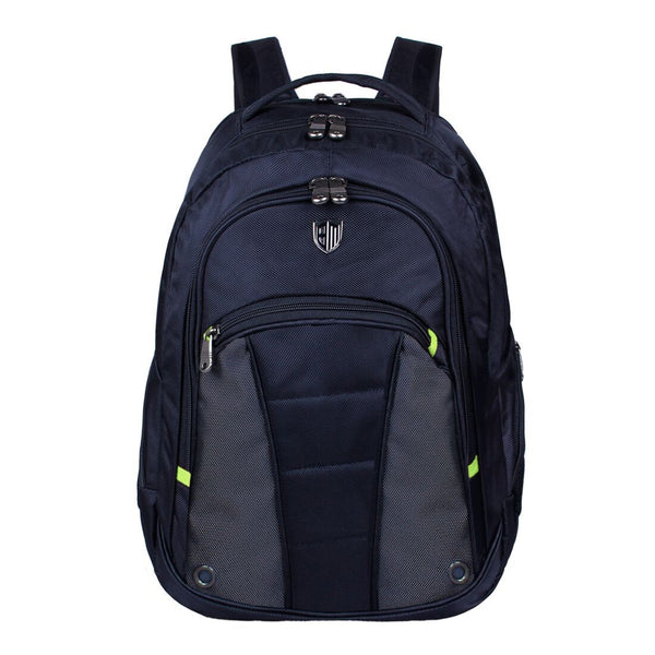 School Backpack large capacity in color black by ECOSUSI
