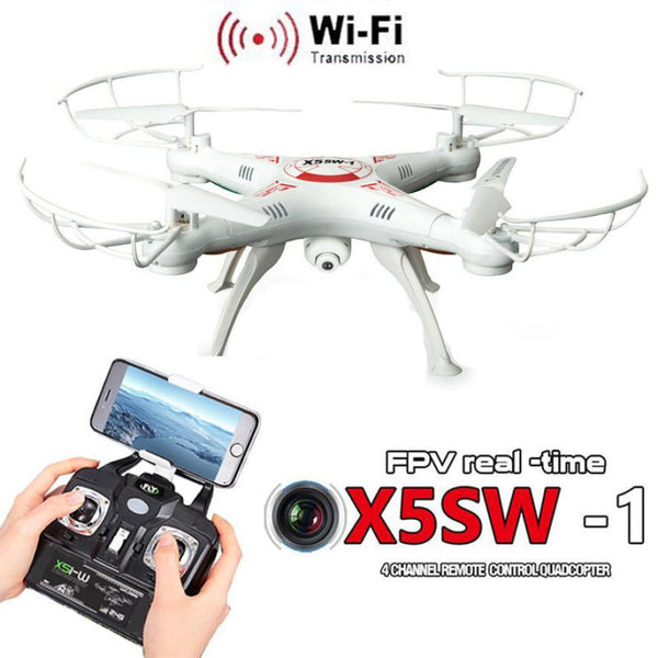 X5SW-1 2.4Ghz 6-Axis Gyro 4CH Remote control FPV Quadcopter WiFi 2MP HD Camera