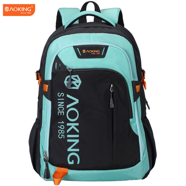Aoking Sports Lightweight Waterproof Backpack in china green color