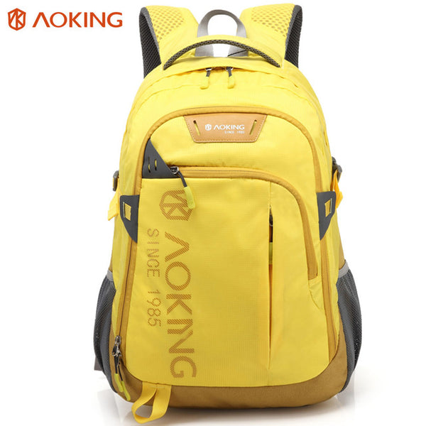 Aoking Sports Lightweight Waterproof Backpack in yellow color