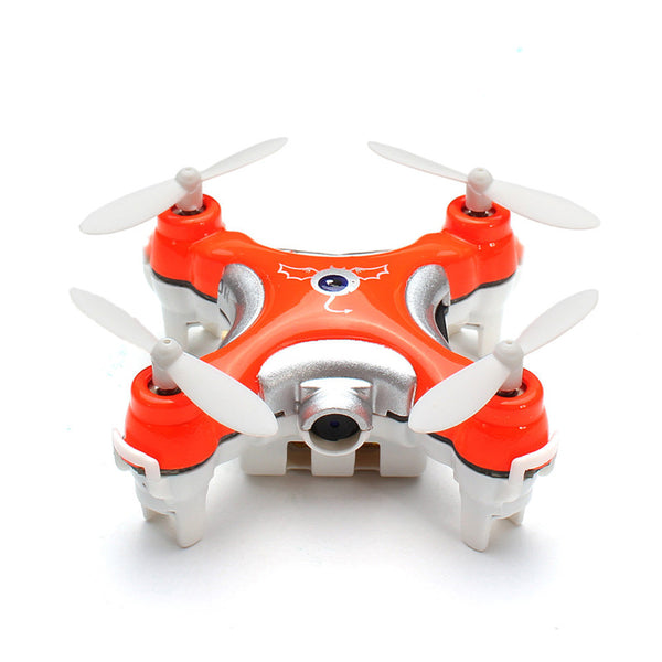 CX-10C Mini Drone 2.4G 4CH 6 Axis LED RC Quadcopter with Camera RTF