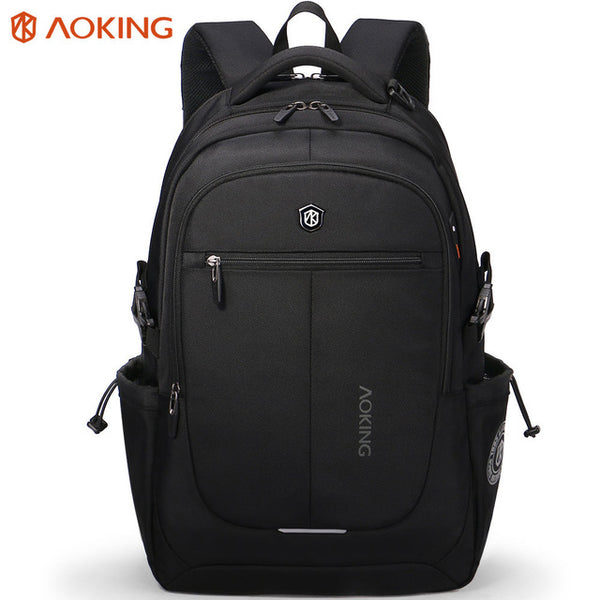 Aoking Urban Ergonomic backpack, Light weight, Comfortable and Fashionable shown in black color