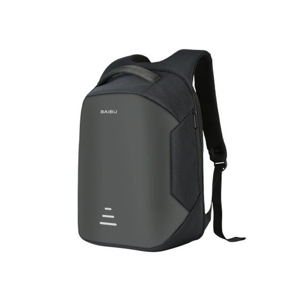 Waterproof backpack with exterior USB charging port to connect all your devices on the go