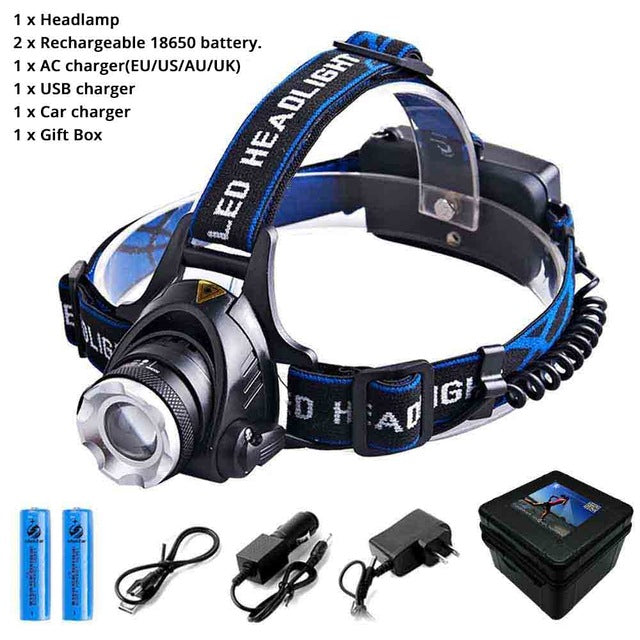 AC Charger for Rechargeable 18650 Battery Headlamp Flashlight US//EU//UK//AU  #