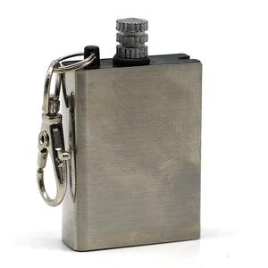 Firestarter Eternal Match / Lighter / Flint Stainless Steel Bottle Shaped Survival Tool