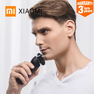 Smart Portable Electric Razor 3 Waterproof Shaving Heads