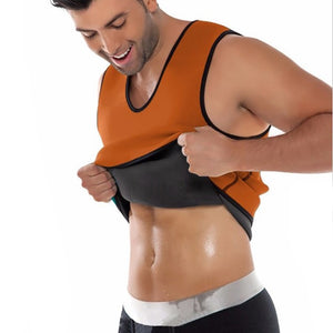 Men Body Shaper - Fat Burning Compression Vest
