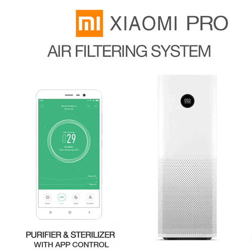 Mi PRO Intelligent Air Purifier / Sterilizer / Filtering System With Smartphone APP Control
