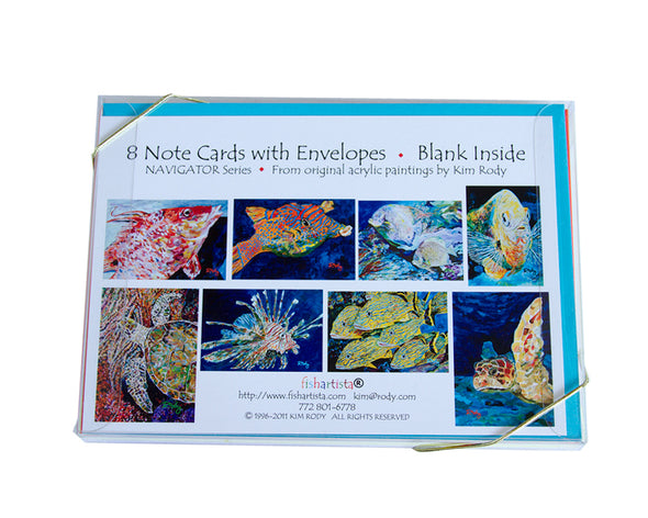 Navigator Series Note Card Collection