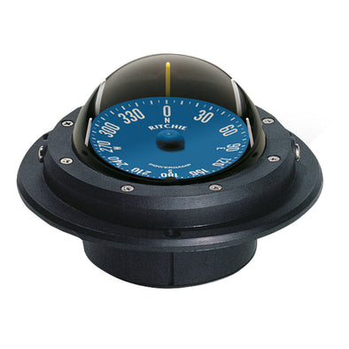 Ritchie RU-90 Voyager Compass - Flush Mount - Black