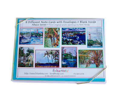 Abaco Series Note Card Collection
