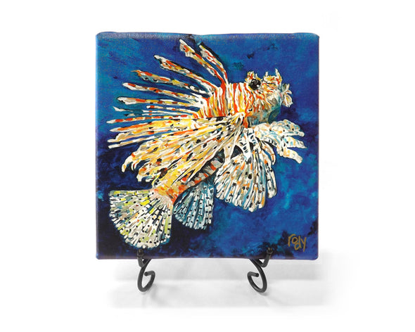 Lionfish from Atlantis Mini Giclee