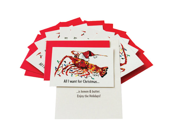 Lobster Christmas Card Collection
