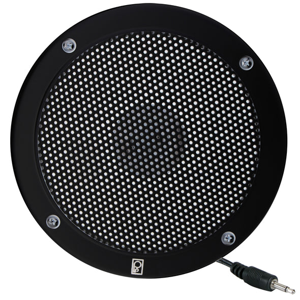 "Poly-Planar 5"" VHF Extension Speaker - Flush Mount - (Single) Black"