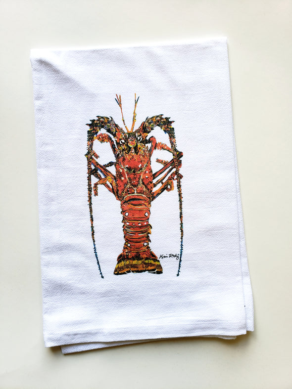 Dinner Lobster Tea Towel