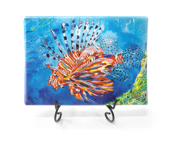 Bubbas Lionfish Mini Giclee