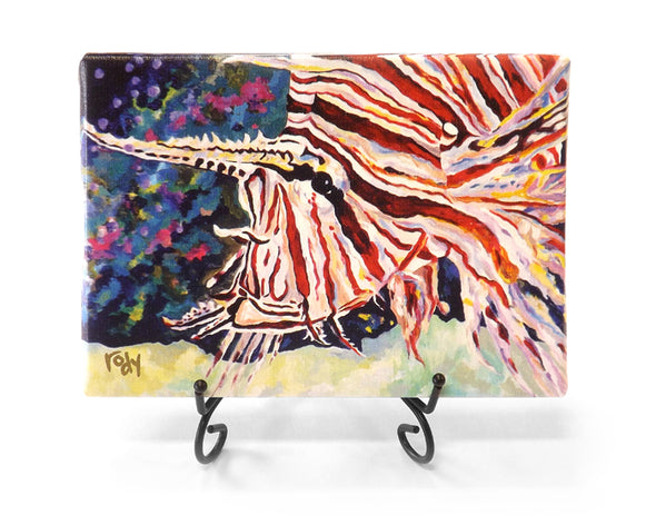 First Lionfish Mini Giclee