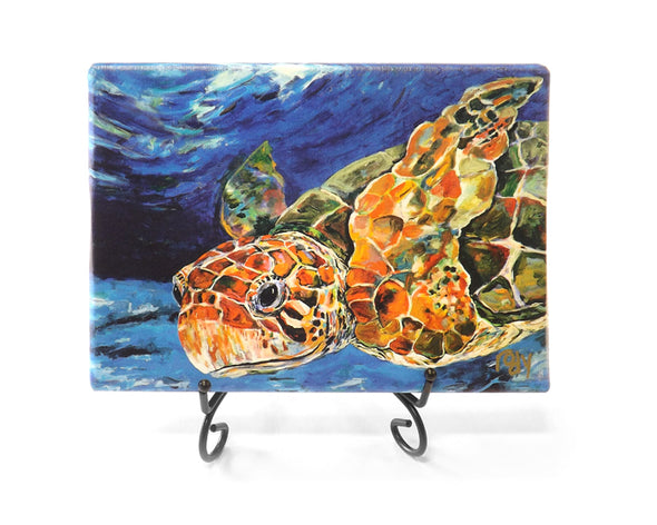 Teres Sea Turtle Mini Giclee