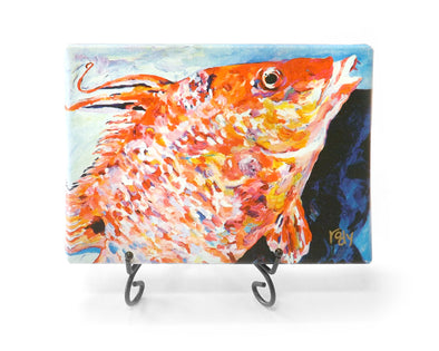 Hogfish on Deck Mini Giclee