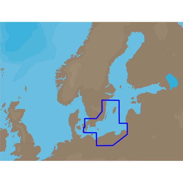 C-MAP NT+ EN-C255 - South Eastern Sweden - C-Card