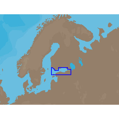 C-MAP NT+ EN-C325 - Gulf of Finland - C-Card