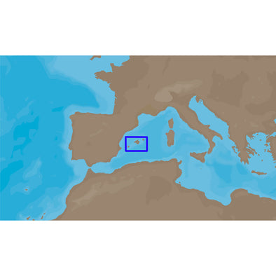 C-MAP NT+ EM-C067 - Balearic Islands - Furuno FP-Card