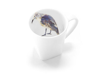 Old Bird at the Beach Mug