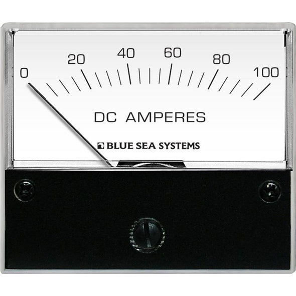"Blue Sea 8017 DC Analog Ammeter - 2-3/4"" Face, 0-100 Amperes DC"