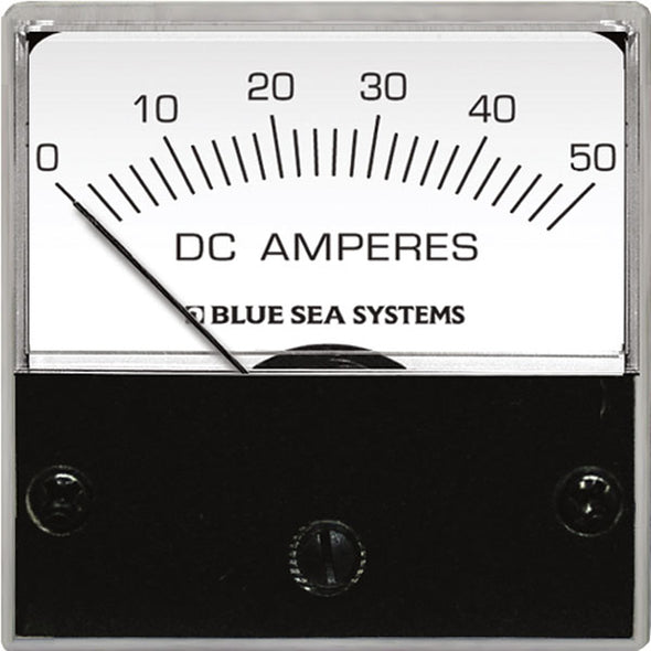"Blue Sea 8038 DC Analog Micro Ammeter - 2"" Face, 0-15 Amperes DC"